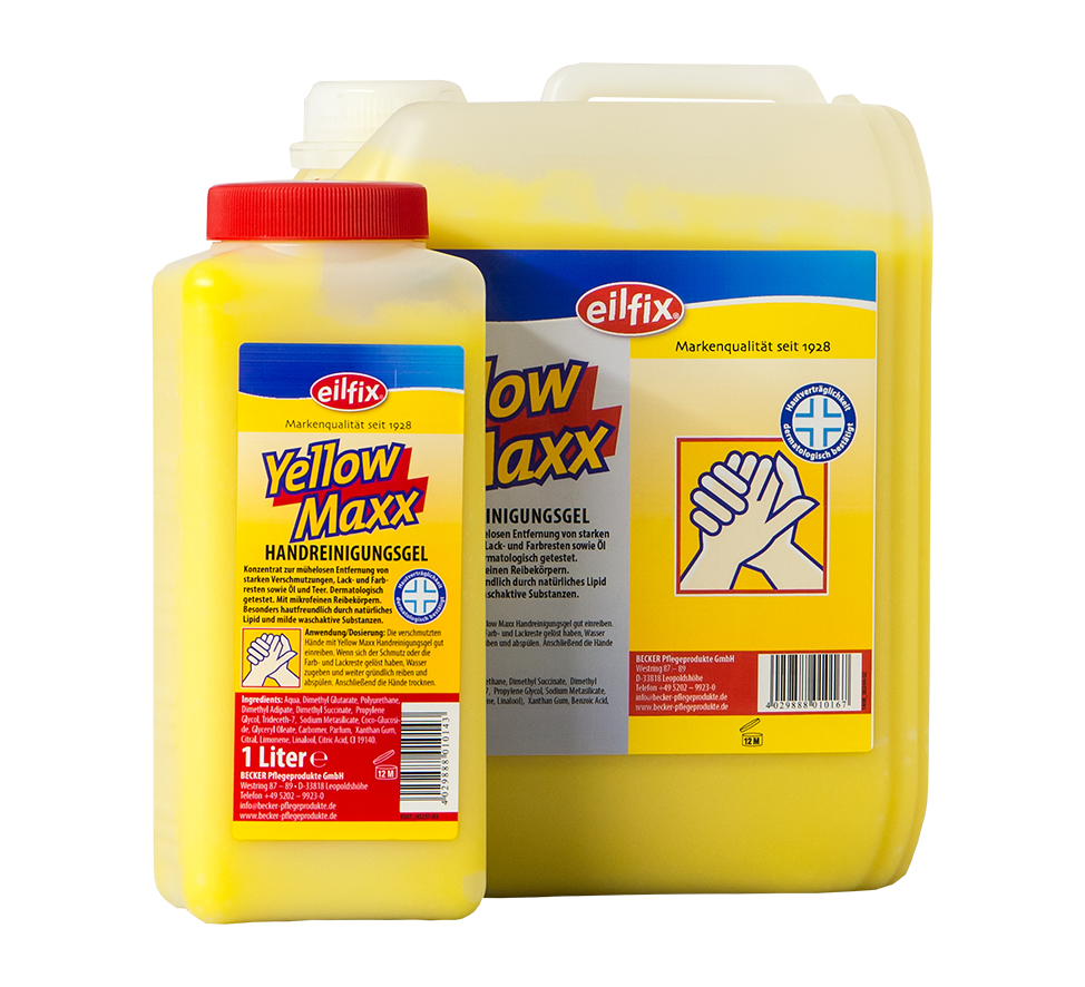 YELLOW MAXX GEL Image